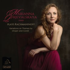 Cover image of the CD titled Marianna Prjevalskaya plays Rachmaninoff